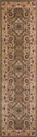 Cambridge 7304 Green Rug - Kas