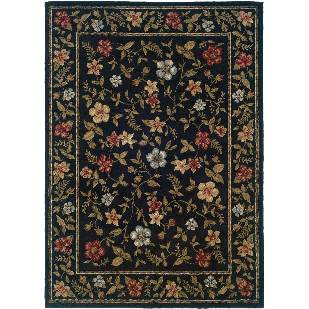 CAMDEN 1196D Black, Green Rug - Oriental Weavers