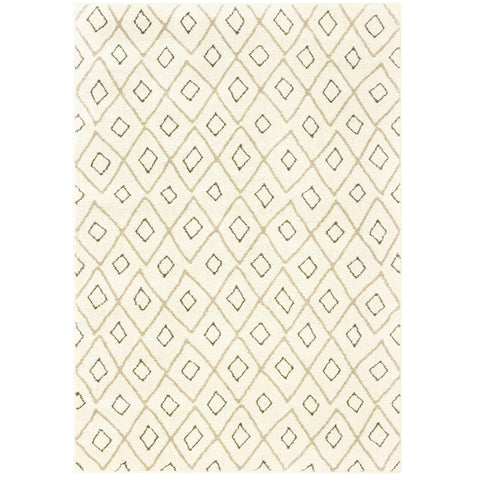CARSON 3943G Ivory, Sand Rug - Oriental Weavers
