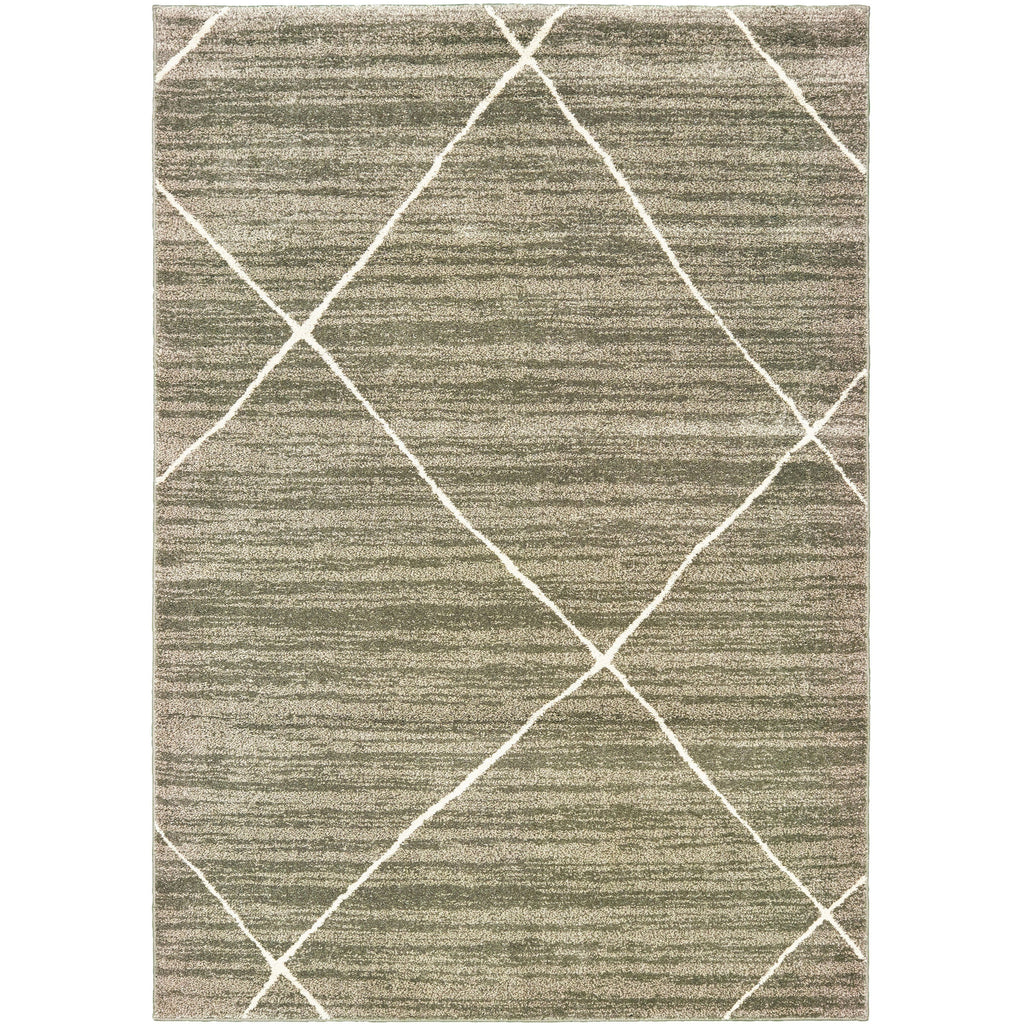 CARSON 9661A Grey, Ivory Rug - Oriental Weavers