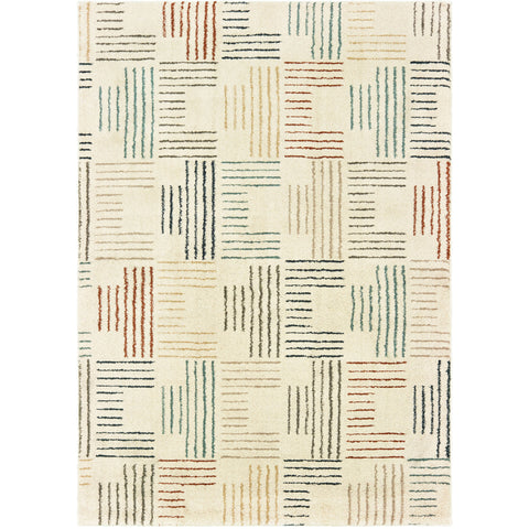 CARSON 9663A Ivory, Gray Rug - Oriental Weavers