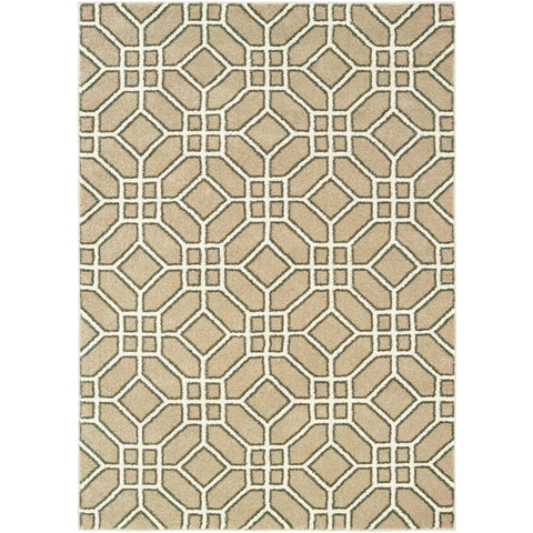 CARSON 9669D Sand, Ivory Rug - Oriental Weavers