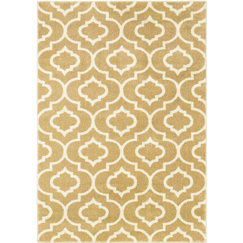 CARSON 9672E Gold, Ivory Rug - Oriental Weavers