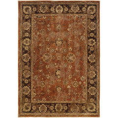 CASABLANCA 4465E Orange, Mink Rug - Oriental Weavers