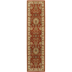 CASABLANCA 5317D Beige, Red Rug - Oriental Weavers