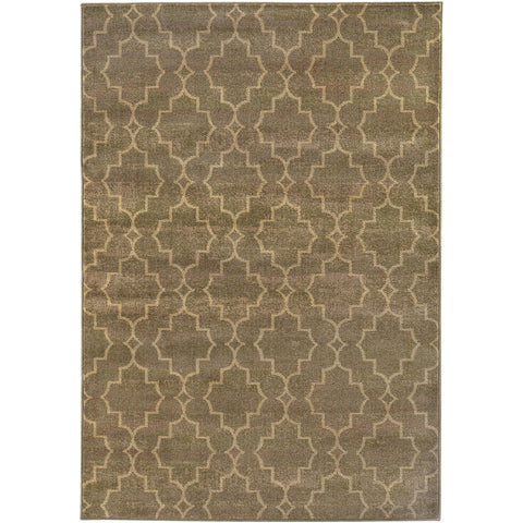 CASABLANCA 5329B Brown, Ivory Rug - Oriental Weavers