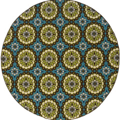 CASPIAN 8328L Blue, Brown Rug - Oriental Weavers