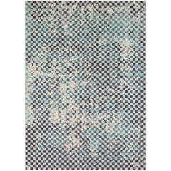 City Aqua, Charcoal Rug - Surya (CIT-2337)