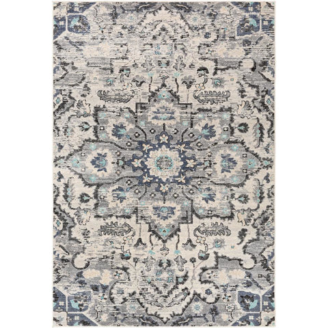 City Taupe, Light Gray Rug - Surya (CIT-2367)