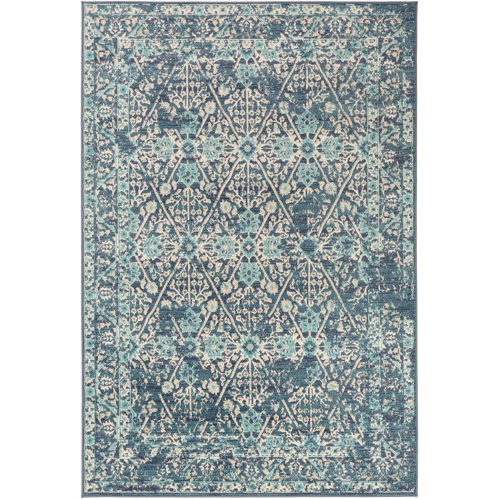 City Charcoal, Aqua Rug - Surya (CIT-2368)