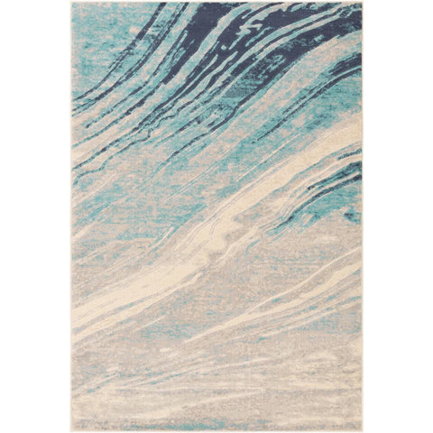 City Aqua, Light Gray Rug - Surya (CIT-2389)