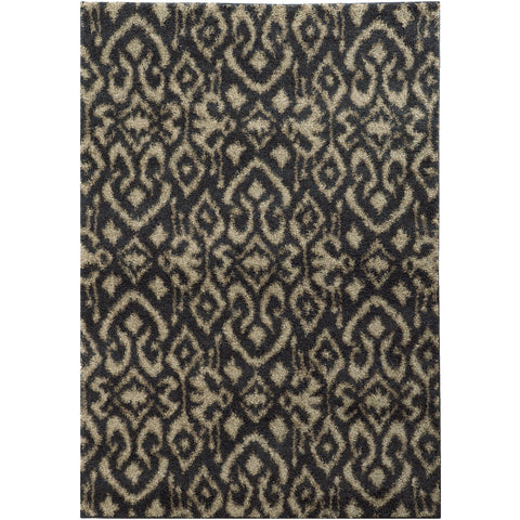 COVINGTON 505B6 Midnight, Beige Rug - Oriental Weavers
