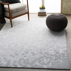 Contempo Light Gray, White Rug - Surya (CPO-3843)