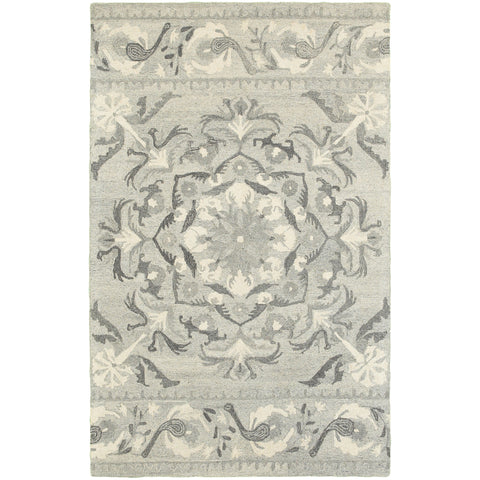 CRAFT 93001 Ash, Ivory Rug - Oriental Weavers