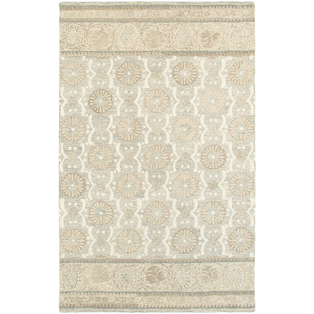 CRAFT 93002 Ash, Sand Rug - Oriental Weavers