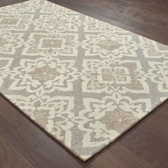CRAFT 93004 Grey, Sand Rug - Oriental Weavers