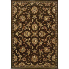 DARCY 1330N Brown, Green Rug - Oriental Weavers