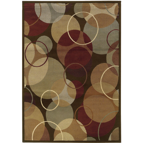 DARCY 2066D Brown, Gold Rug - Oriental Weavers