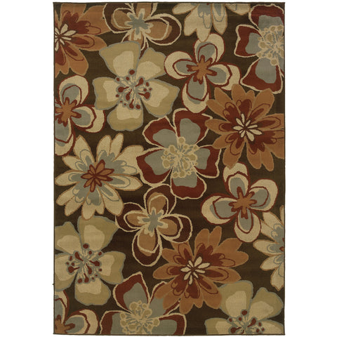 DARCY 5991N Brown, Gold Rug - Oriental Weavers