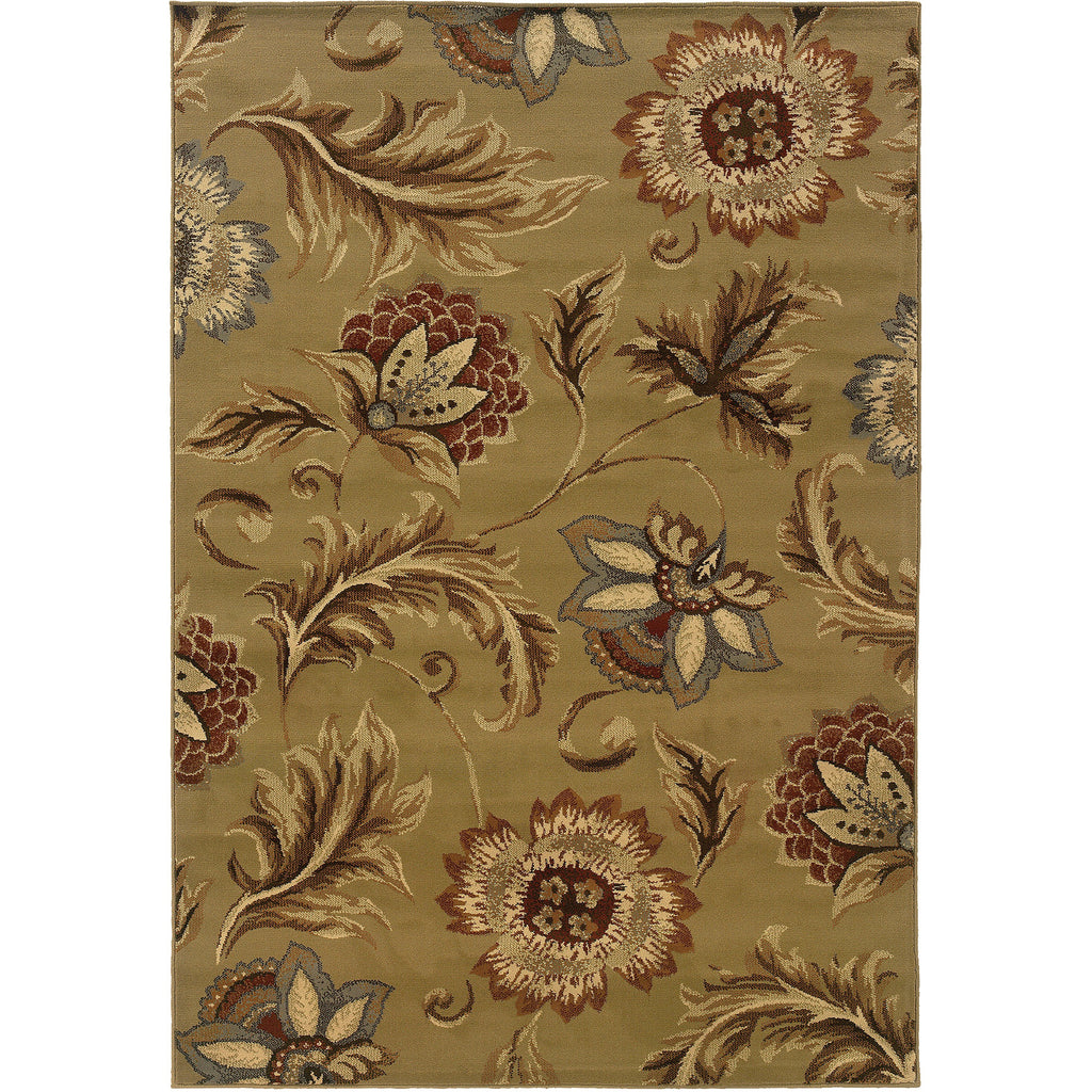 DARCY 701J9 Tan, Gold Rug - Oriental Weavers