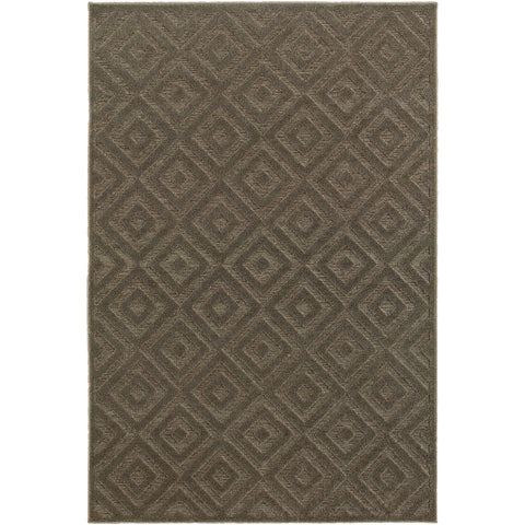 ELISA 114N2 Brown, Grey Rug - Oriental Weavers
