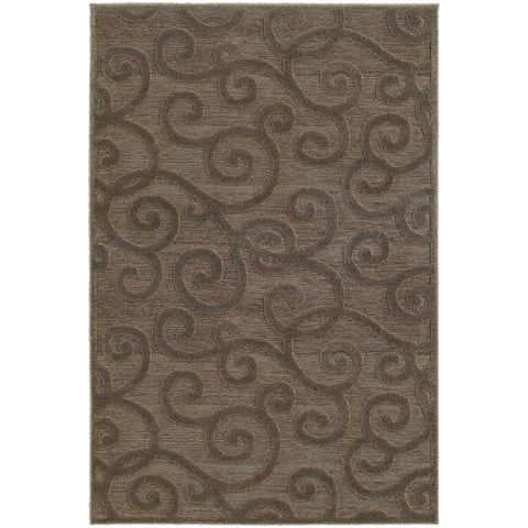 ELISA 119N2 Brown, Grey Rug - Oriental Weavers