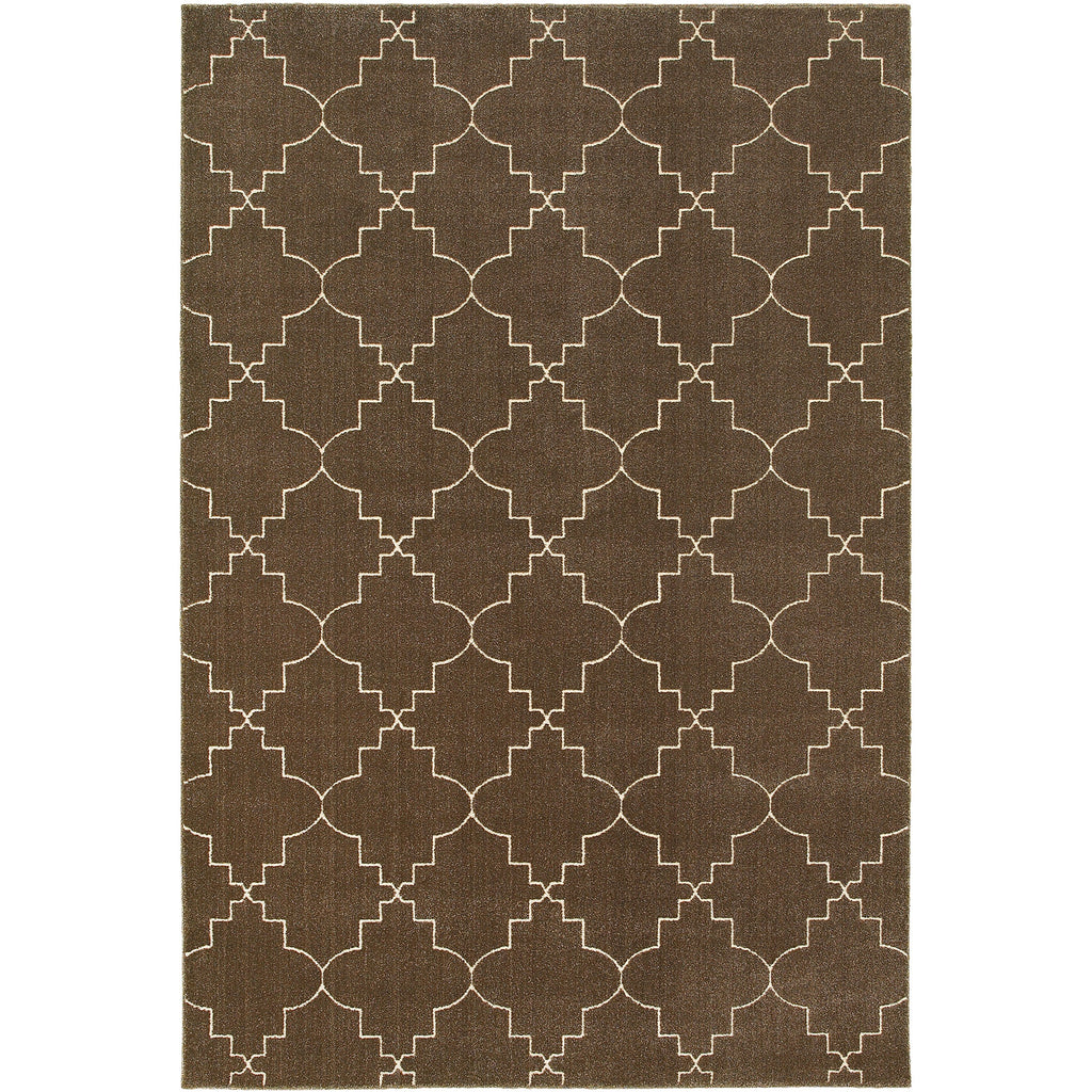 ELLERSON 5994N Brown, Ivory Rug - Oriental Weavers
