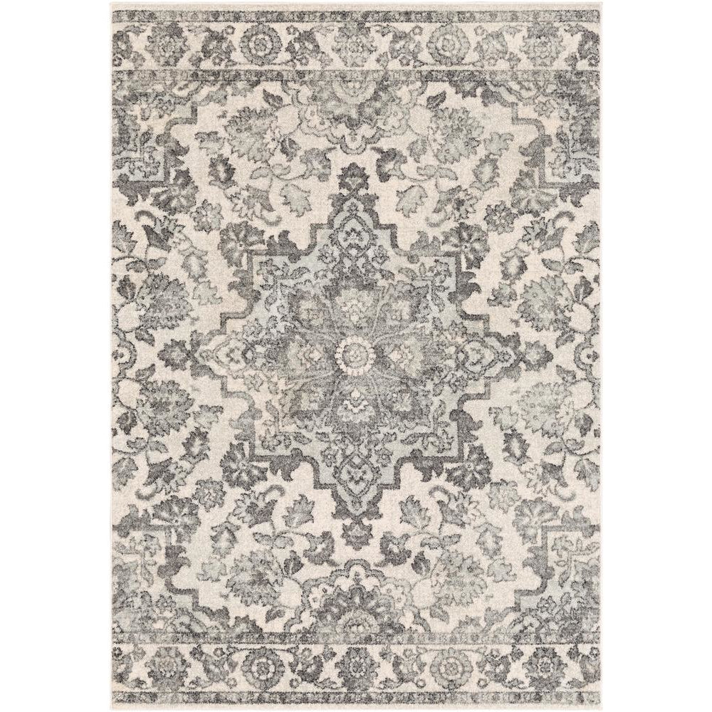 Elaziz Medium Gray, Light Gray Rug - Surya (ELZ-2344)