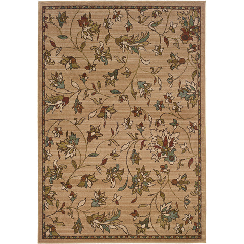 EMERSON 1994A Gold, Brown Rug - Oriental Weavers