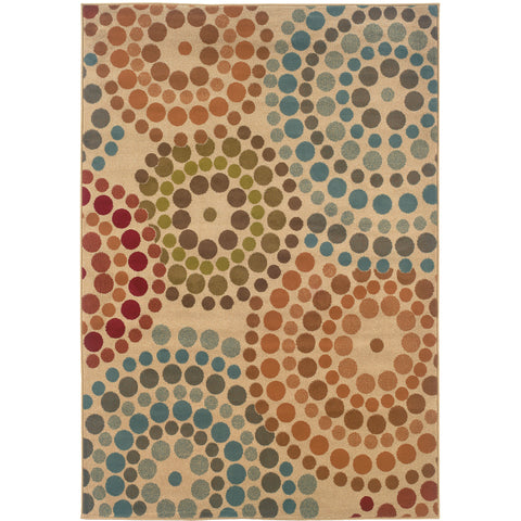 EMERSON 2205A Gold, Blue Rug - Oriental Weavers