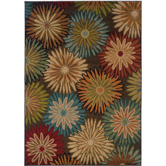 EMERSON 2820A Charcoal, Blue Rug - Oriental Weavers