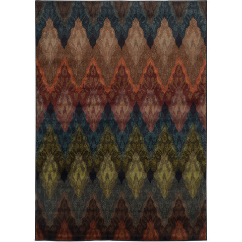 EMERSON 4775A Black, Blue Rug - Oriental Weavers