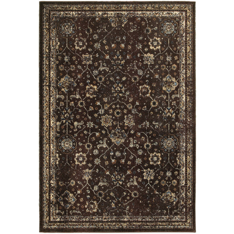 EMPIRE 113D4 Brown, Ivory Rug - Oriental Weavers