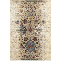 EMPIRE 028W4 Ivory, Blue Rug - Oriental Weavers