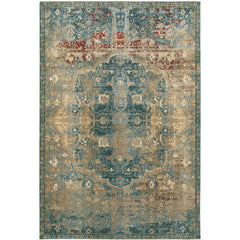 EMPIRE 4449H Gold, Blue Rug - Oriental Weavers