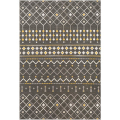 Rafetus Charcoal, Medium Gray Rug - Surya (ETS-2321)