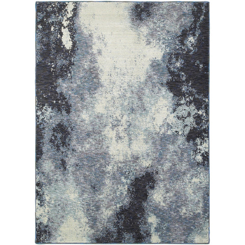 EVOLUTION 8000B Navy, Ivory Rug - Oriental Weavers
