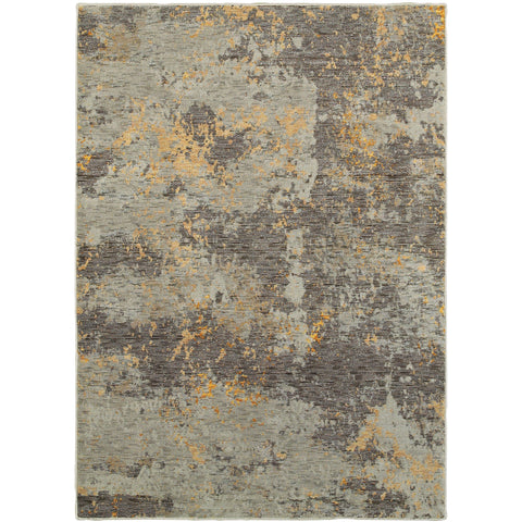EVOLUTION 8025B Grey, Gold Rug - Oriental Weavers
