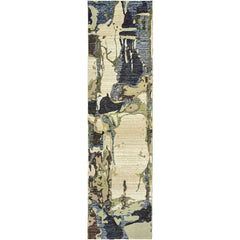 EVOLUTION 8027A Blue, Grey Rug - Oriental Weavers