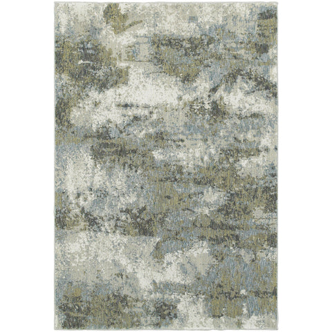 EVOLUTION 8039E Blue, Green Rug - Oriental Weavers