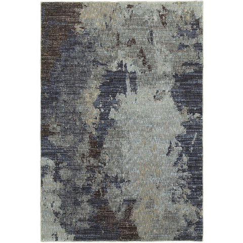 EVOLUTION 8049B Navy, Blue Rug - Oriental Weavers