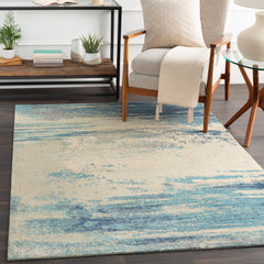 Felicity Denim, Light Gray Rug - Surya (FCT-8007)