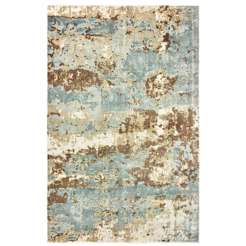 FORMATIONS 70001 Blue Rug - Oriental weavers