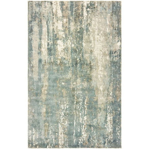 FORMATIONS 70002 Blue, Grey Rug - Oriental Weavers