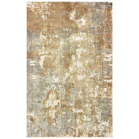 FORMATIONS 70003 Grey Rug - Oriental weavers