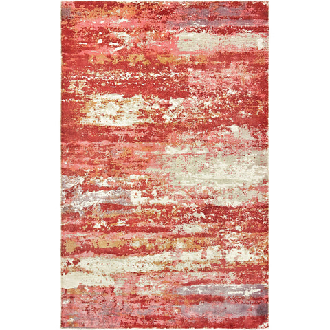 FORMATIONS 70004 Pink, Red Rug - Oriental Weavers
