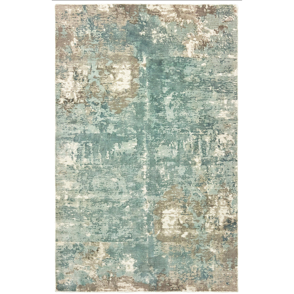 FORMATIONS 70005 Blue, Grey Rug - Oriental Weavers