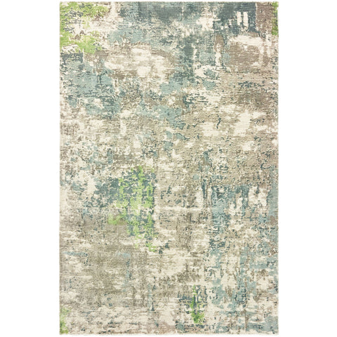FORMATIONS 70007 Blue, Green Rug - Oriental Weavers