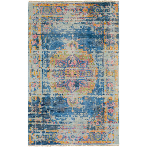 Festival Denim, Dark Blue Rug - Surya (FVL-1007)