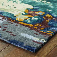 GALAXY 21903 Blue, Grey Rug - Oriental Weavers
